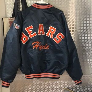 Vintage Chicago bears chalk line